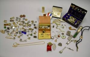 Assortment of Mens Jewelry and Accessories