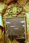 Louis XVI Style Giltwood and Gesso Mirror