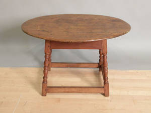New England pine tavern table