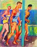 Carl Sprinchorn American 18871971 Three Bathers