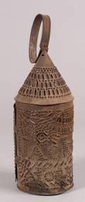 Jackson Forever Pierced Tin Campaign Lantern