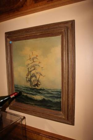 Sailing Ship Painting