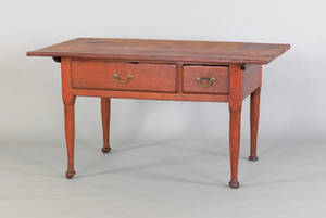 Pennsylvania walnut tavern table ca 1765