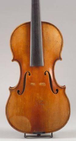Violin c 1880 possibly Calvin Baker