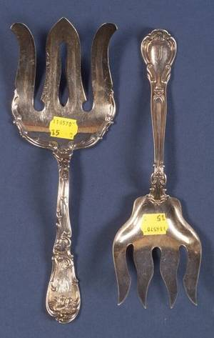Three Gorham Sterling Flatware Serving Pieces