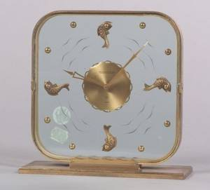 Art Deco JaegerLeCoultre Boudoir Timepiece
