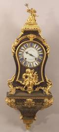 Louis XVstyle Boullework and Bronze Mounted Bracket Clock