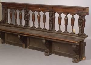 Pair of Italian Renaissance Walnut Benches