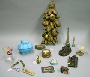 Lot of Assorted Continental Decorative Items and Antiquities