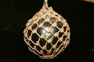 Original Glass Float in Net