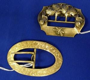 Two Sterling Silver Buckles