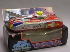Astronef Electrique Space Toy in Original Box