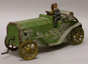 Painted Tin Open Touring Car