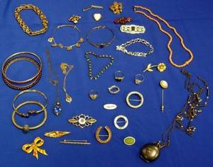 Group of Victorian and Costume Jewelry