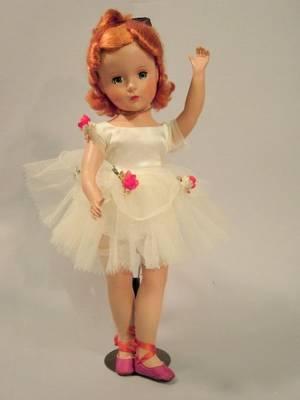 Madame Alexander Hard Plastic Nina Ballerina