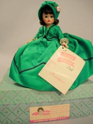 Boxed Madame Alexander Hard Plastic Cissette Scarlett