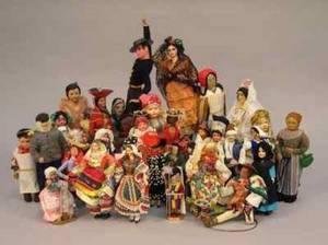 Group of Forty Miscellaneous Foreign Dolls