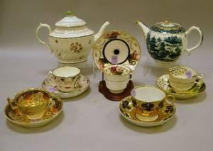 Twelve Pieces of Assorted English Ceramic Tableware