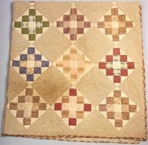 Pieced Cotton Patchwork Friendship Quilt