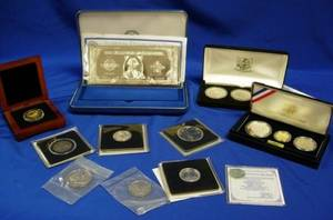 World Cup USA 1994 Commemorative Coins ThreeCoin Proof Set