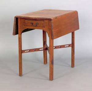 Georgian mahogany Pembroke table ca 1760