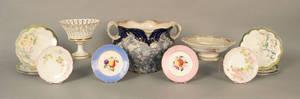 Set of six Limoges plates