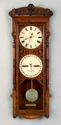 Seth Thomas office calendar clock ca 1885