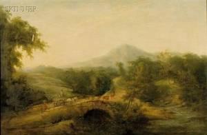 School of Thomas Gainsborough British 17151774 On the Road