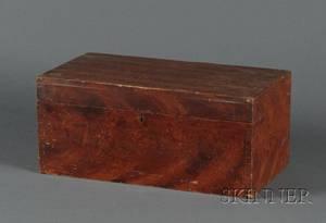 Grainpainted Pine Storage Box