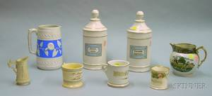 Eight Assorted Mostly English Ceramic Items