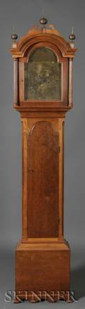 Federal Cherrycased Tall Clock