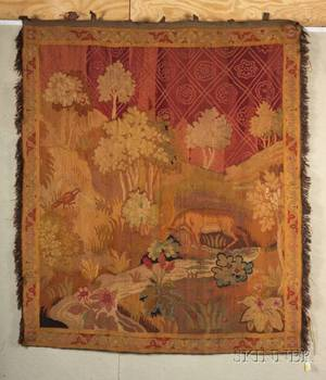 Continental Wool Tapestry Wall Hanging