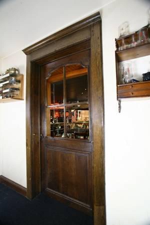 Antique Oak Four Panel Doorway