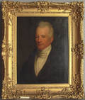 English oil on canvas portrait of a gentleman