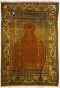 Turkish prayer carpet ca 1900