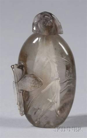 Rock Crystal Snuff Bottle