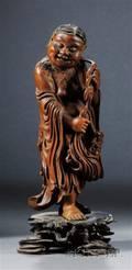 Carved Boxwood Figure