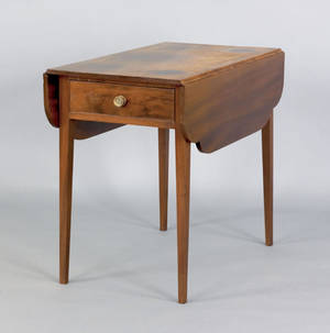 Pennsylvania Federal mahogany pembroke table ca 1815