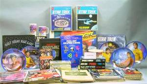 Group of Star Trek Collectible Items