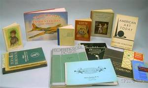 Group of Mid20th Century Commercial Art and Design Booklets and Art Books