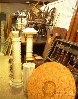 Large Lot of Furniture Decorative Items and Accessories