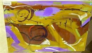Three Oil on Canvas Works by Elizabeth Mukerji