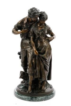 Bronze Figural Sculpture After Luca Madrassi