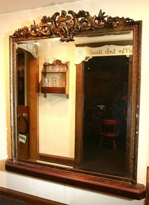 Highly Carved and Beveled Pier Mirror
