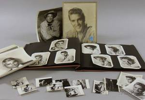 Mid20th Century Elvis Presley and Movie Star Photograph Album