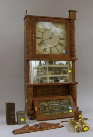 TripleDecker Shelf Clock by Birge  Ives