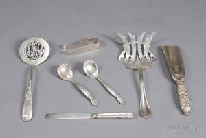 Group of Seven Sterling Flatware Items