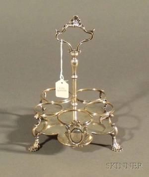 George III Silver Cruet Stand