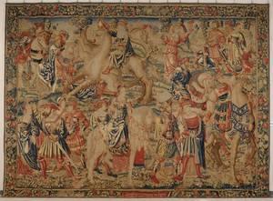 Fine Flemish Wool Tapestry