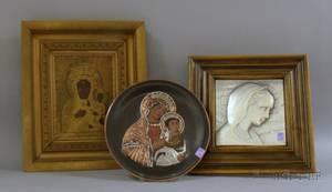 Three Religious Wall Items